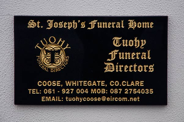 St Josephs Funeral Home, Tuohy Funeral Directors
