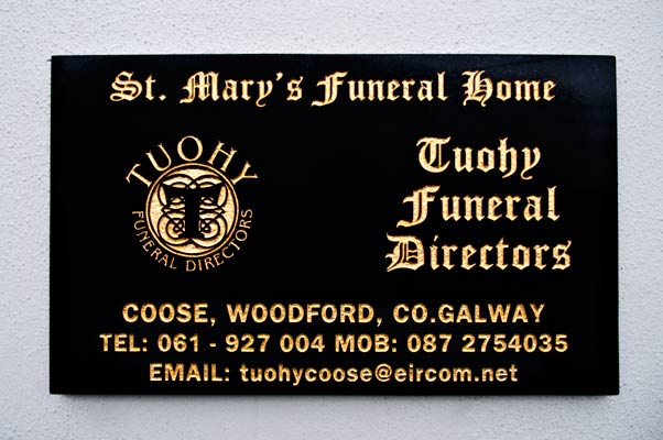 St Mary's Funeral Home, Tuohy Funeral Directors