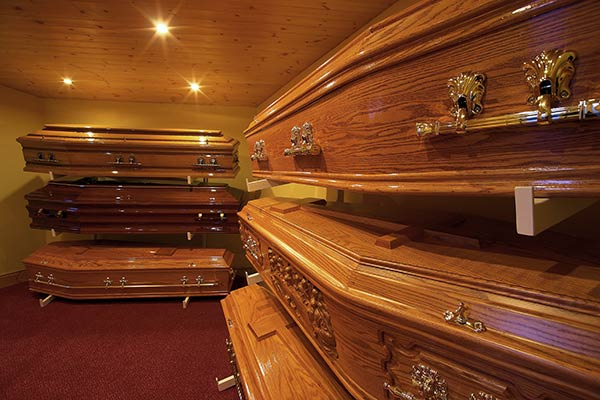 Tuohy Funeral Directors Selection of Coffins